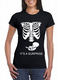skeleton baby xray t-shirts